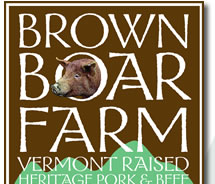 Brown Boar Farm - Vermont Raised Heritage Pork & Beef | Heirloom Vegetables